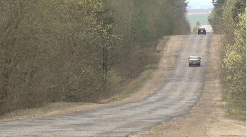 В Гродно начали ремонтировать дорогу, соединяющую Ольшанку и Южный Рынок