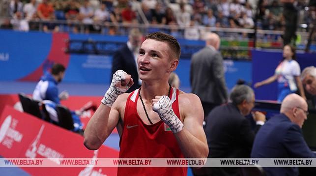 Александр Лукашенко поздравил боксера Дмитрия Асанова с завоеванием золота II Европейских игр