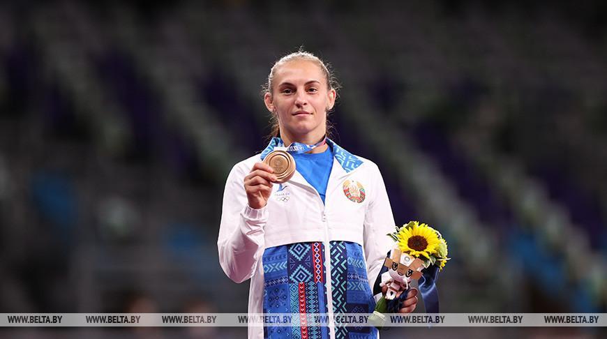 Белоруска Ванесса Колодинская завоевала бронзу Олимпиады