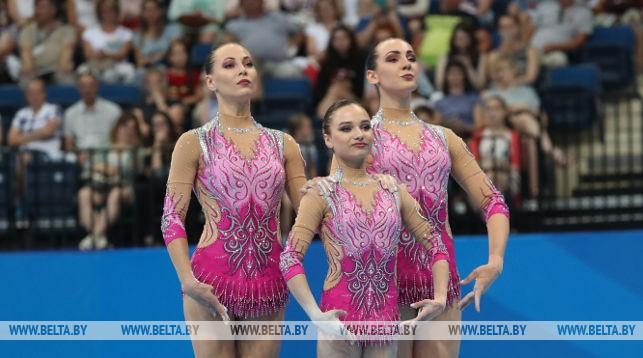 Александр Лукашенко поздравил акробаток с завоеванием первого для Беларуси золота II Европейских игр