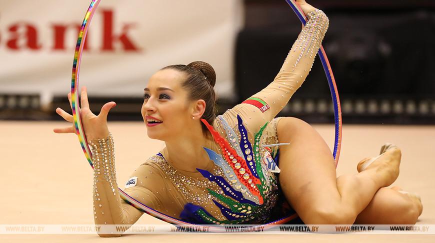 Белорусская гимнастка Екатерина Галкина завоевала серебро турнира серии Гран-при в Эстонии