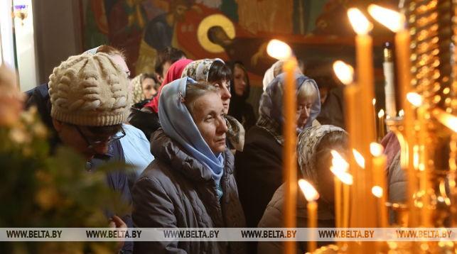 Благовещение Пресвятой Богородицы празднуют в Гродно