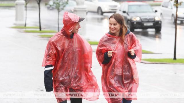 Грозы и до +32°С ожидаются 29 июля в Беларуси