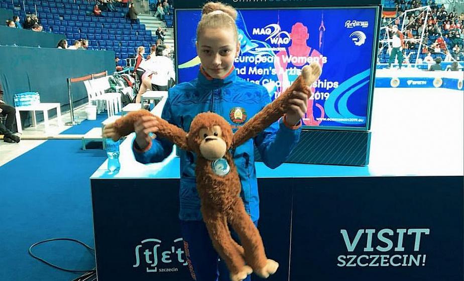 Гродненка Анастасия Алистратова сразится за «золото» в финале соревнований по спортивной гимнастике на II Европейских играх