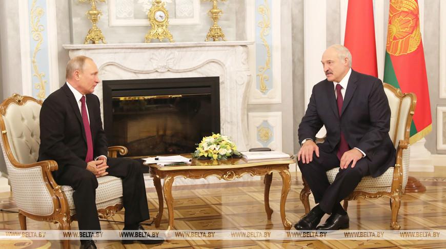 Александр Лукашенко и Владимир Путин сегодня в Сочи проведут переговоры
