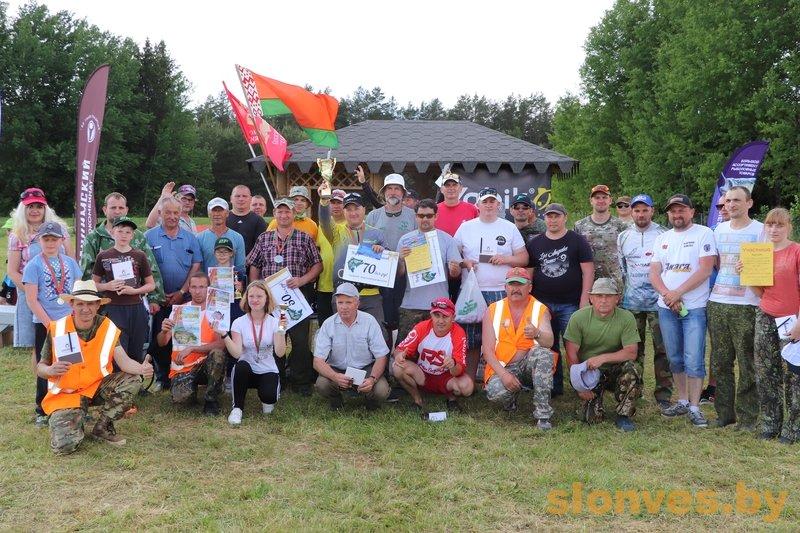 Слонимская рыбалка собрала гостей со всей Беларуси