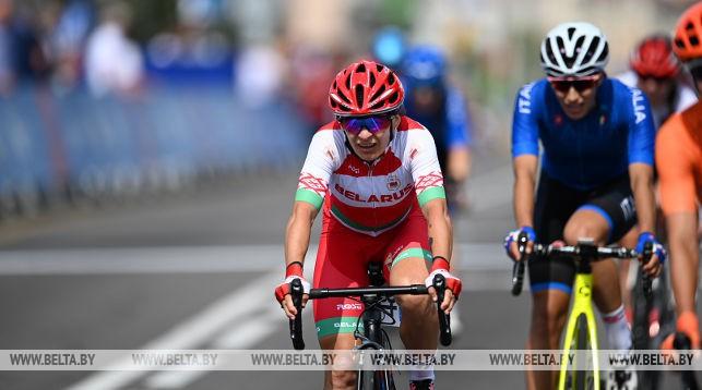 Татьяна Шаракова стала 3-й в женской групповой шоссейной велогонке II Европейских игр