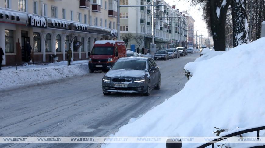 В Госавтоинспекции назвали основные причины ДТП в зимний период