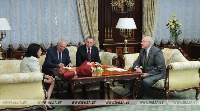 Александр Лукашенко провел встречи с прибывшими на открытие II Европейских игр высокими гостями