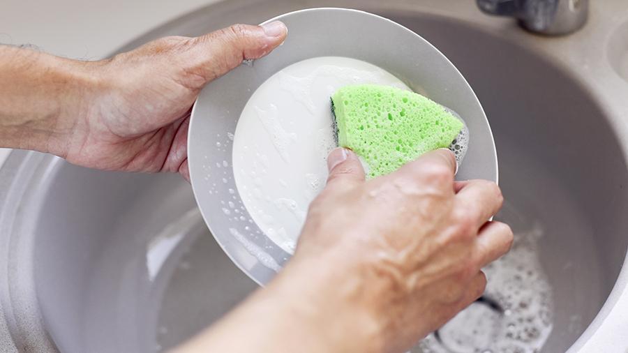Ученые рассказали, как часто необходимо менять губку для мытья посуды и почему