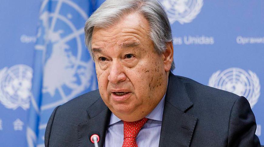 Генсек ООН положительно оценил договоренность о прекращении огня между Арменией и Азербайджаном