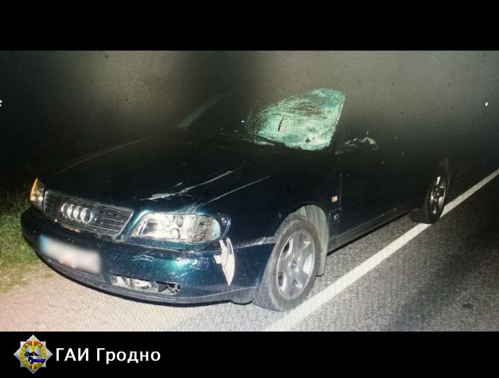 В Вороновском районе произошло ДТП, в котором погиб пешеход