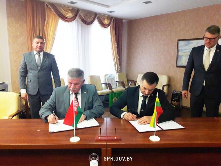 В Гродно состоялась рабочая встреча Главных пограничных уполномоченных Республики Беларусь и Литовской Республики