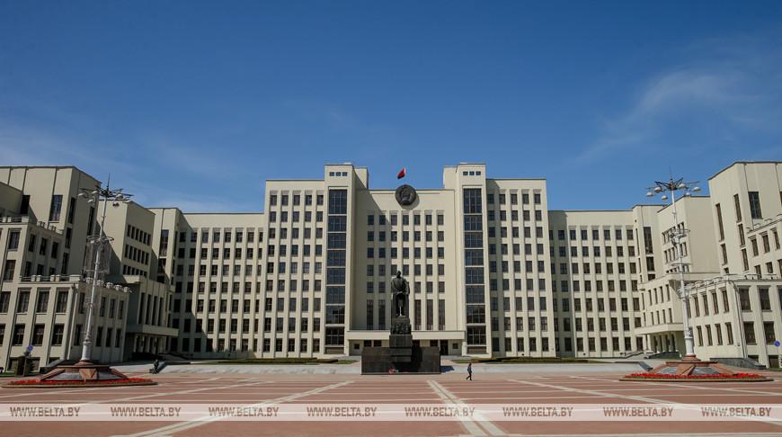 Внеочередная сессия белорусского парламента открывается 3 августа