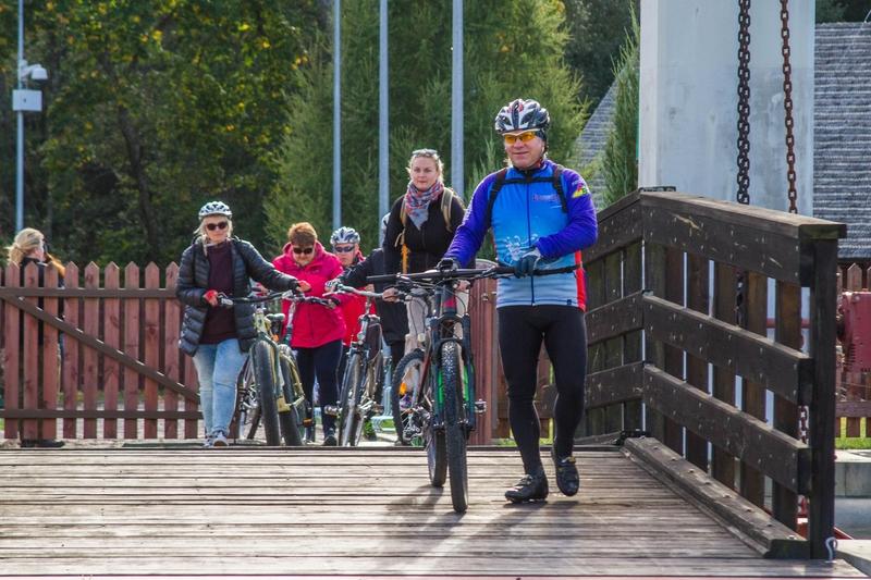 Пункты велопроката открываются на Августовском канале 1 мая