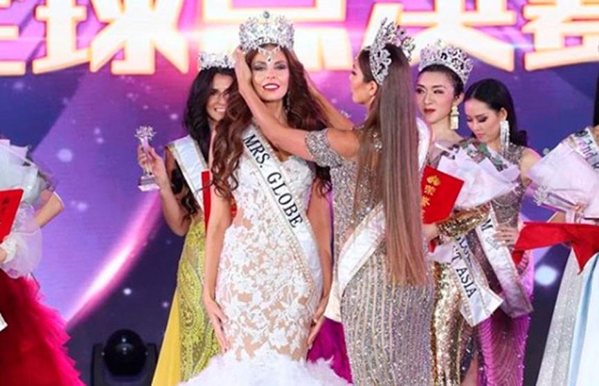 Названо имя победительницы конкурса «Миссис Земной шар 2020»