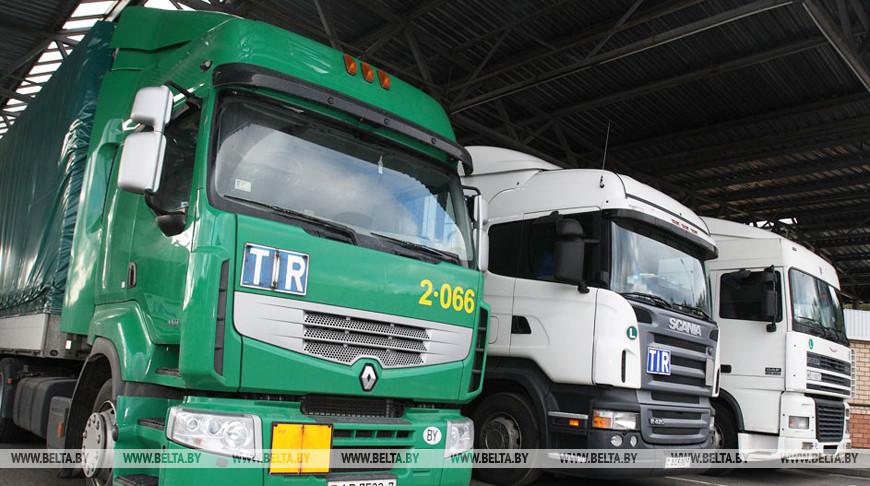 Поток грузового транспорта в пунктах пропуска Гродненской области в I квартале возрос на 8%