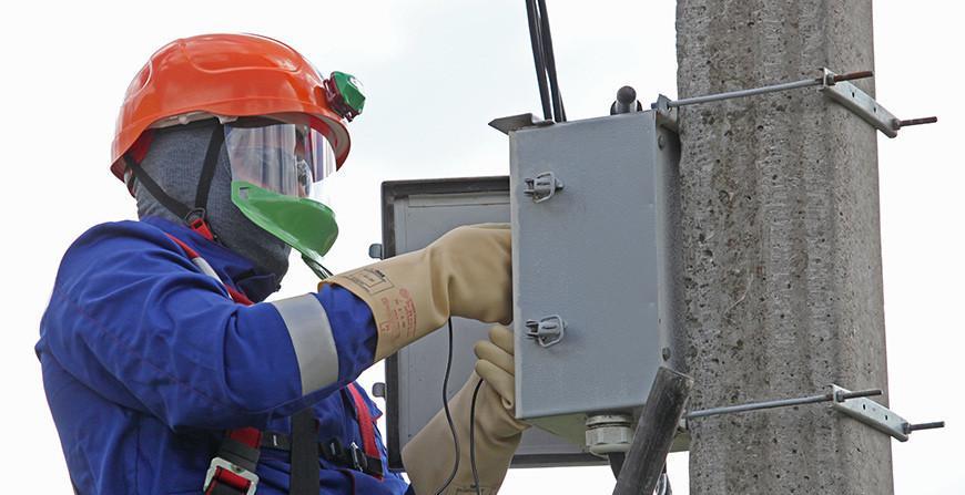 Электроснабжение в течение суток нарушалось в 330 населенных пунктах Беларуси.