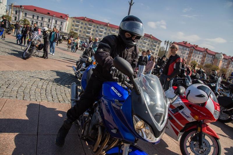 В Гродно открыли автомотосезон