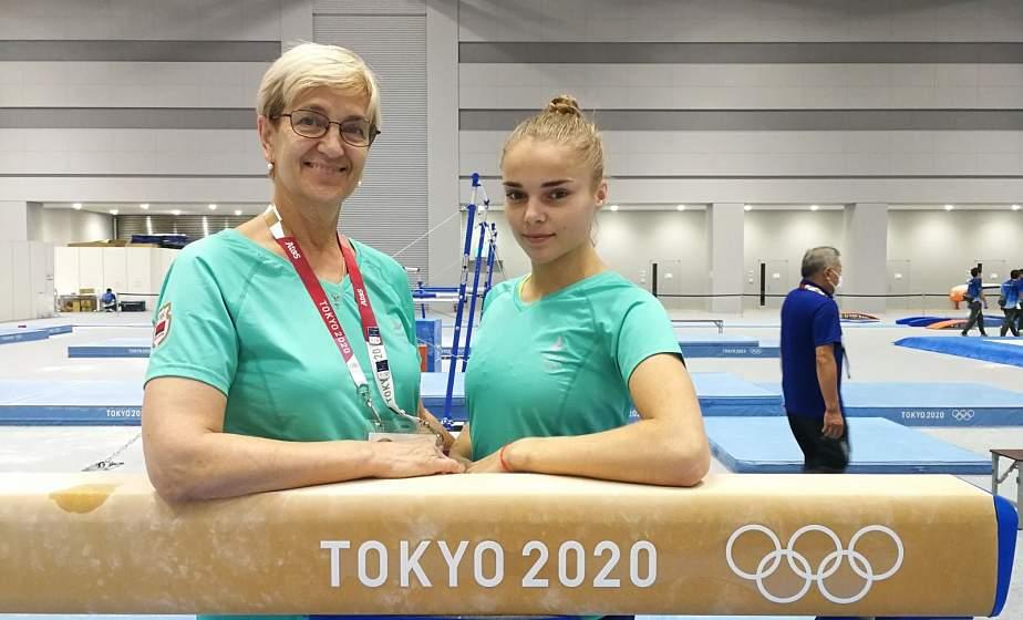 Гродненская гимнастка Анна Травкова дебютировала на XXXII летних Олимпийских играх в японском Токио