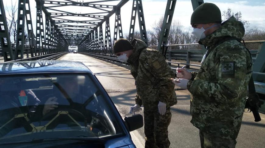 Украина закрывает 170 пунктов пропуска на границе