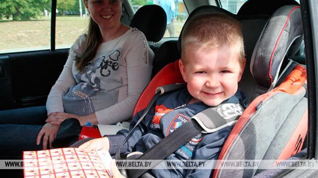 ГАИ усилит контроль за безопасной перевозкой детей 18-24 августа