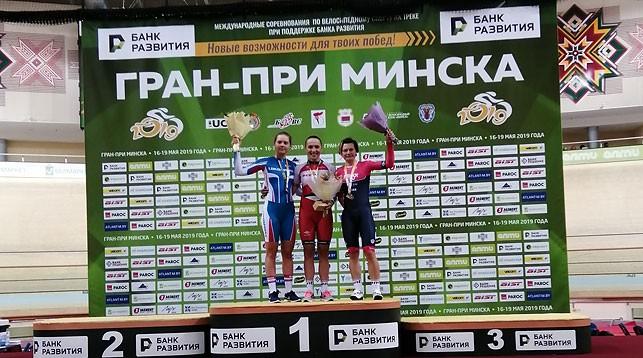 Белорусы завоевали шесть наград на старте тестового турнира по велоспорту к II Европейским играм