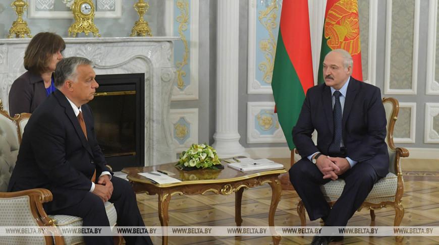 «В формате живого общения» — Александр Лукашенко рассказал о политико-экономических итогах встречи с Виктором Орбаном