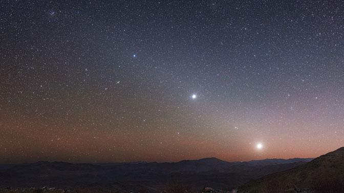 Малый парад планет смогут наблюдать белорусы утром в четверг