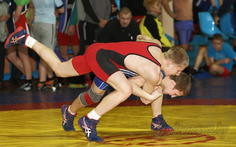 Спортсмены Гродненской области выиграли командное первенство чемпионата Беларуси по вольной борьбе