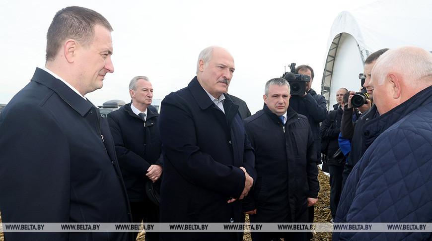 Тема недели: Рабочая поездка Президента в Слуцкий район