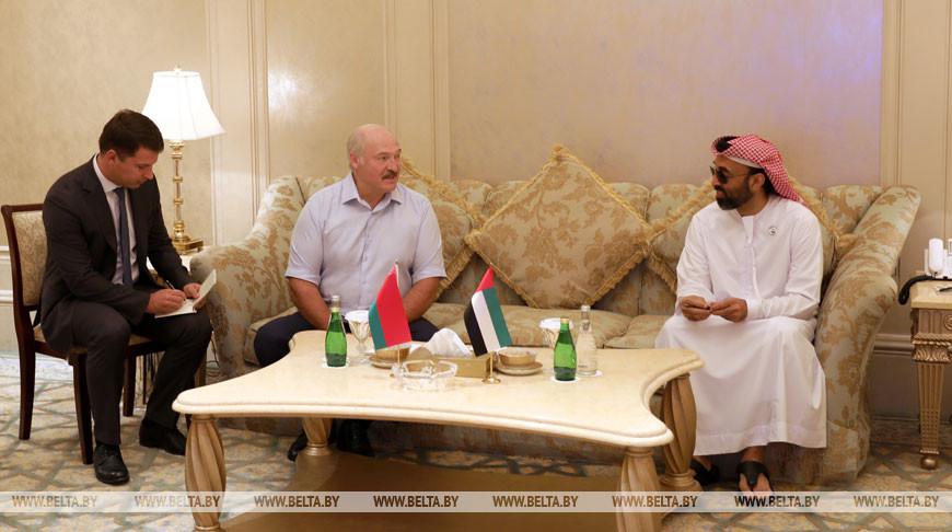 Александр Лукашенко ознакомился с развитием в ОАЭ сферы искусственного интеллекта