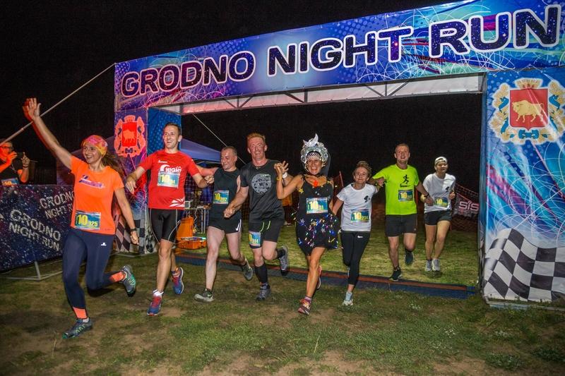 Магия «Ночной десятки»: под Гродно прошел уникальный легкоатлетический забег