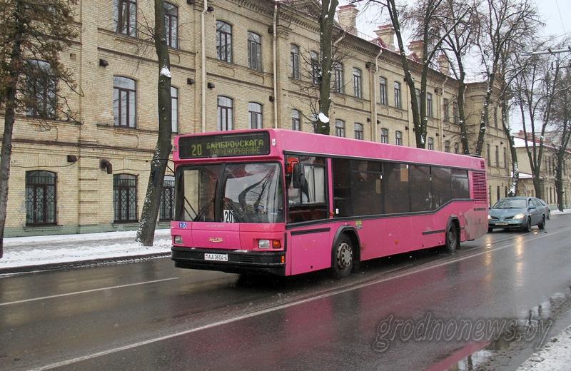 В Гродненской области меняются тарифы на проезд в общественном транспорте
