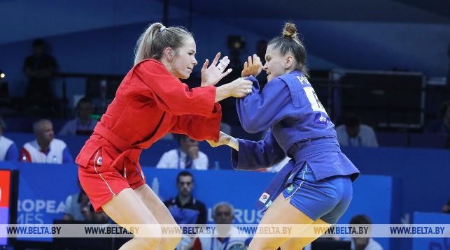 Белорусская самбистка Анастасия Архипова обеспечила себе серебро II Европейских игр