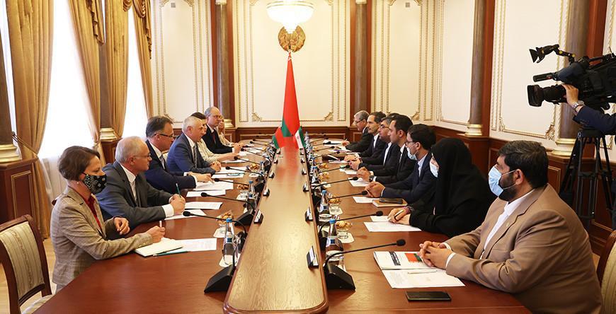 Валерий Мицкевич: взаимодействие с Тегераном - традиционная составляющая многовекторной политики Беларуси