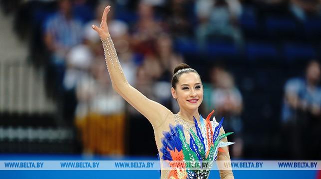 Екатерина Галкина завоевала серебро II Европейских игр в упражнении с обручем