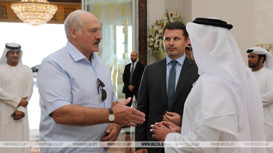 Завершился визит Александра Лукашенко в ОАЭ