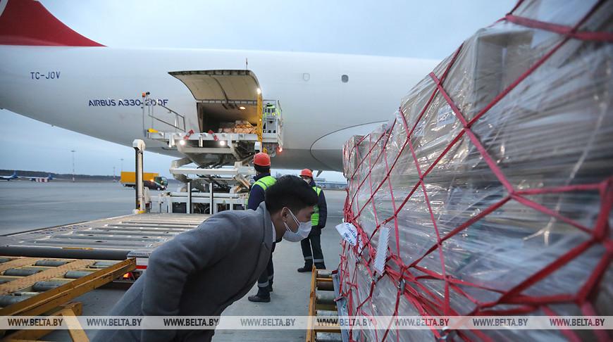 Китай направит в Беларусь еще три борта с медицинской гуманитарной помощью