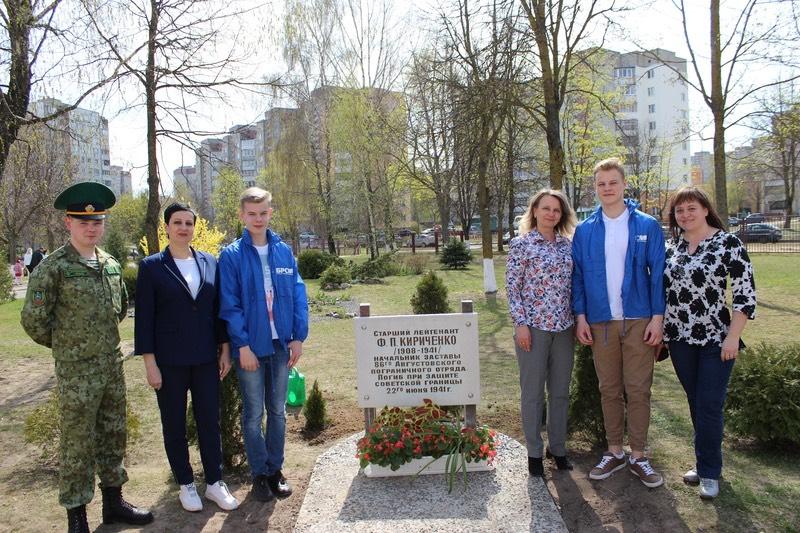 Поколения памяти. Молодежь Гродно присоединилась к проекту по благоустройству памятников и воинских захоронений