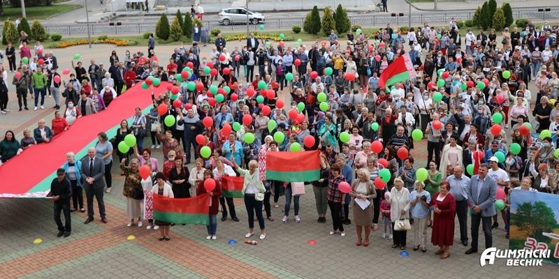 Ошмянцы выбирают мир: мы — вместе, мы — едины!