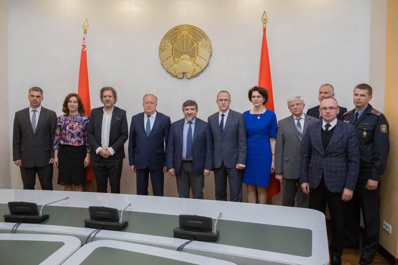 Глава Представительства Международной организации по миграции в Беларуси Зейнал Гаджиев посетил Гродненщину
