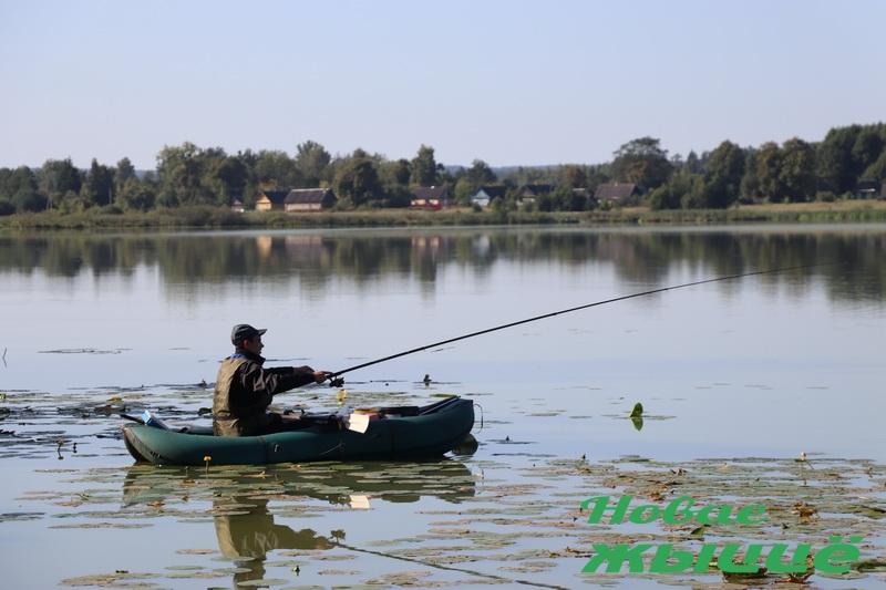 На Новогрудчине прошли ежегодные соревнования по летнему лову рыбы «Большая рыбалка»