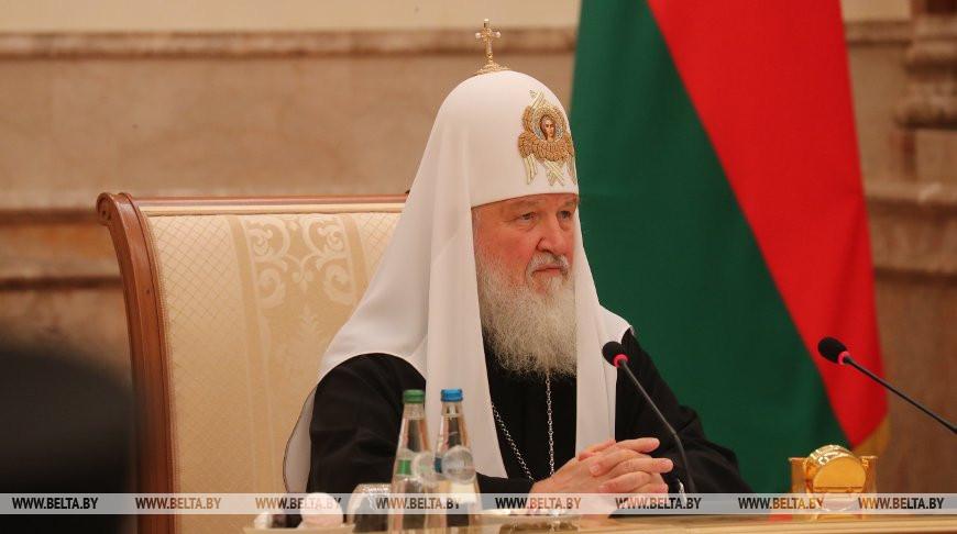 Александр Лукашенко поздравил Патриарха Московского и всея Руси Кирилла с Пасхой