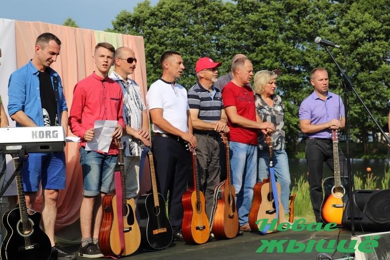 На Новогрудчине проходит региональный фестиваль-конкурс бардовской песни памяти Владимира Высоцкого «Музыка сердец»