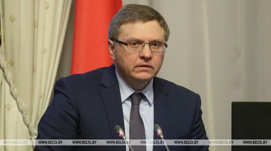 Министром экономики Беларуси назначен Александр Червяков