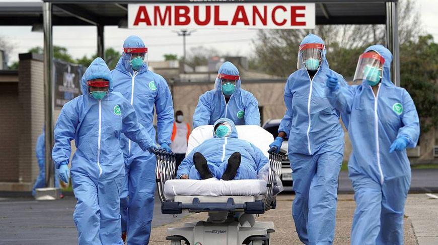 США стали третьими в мире по числу зараженных коронавирусом