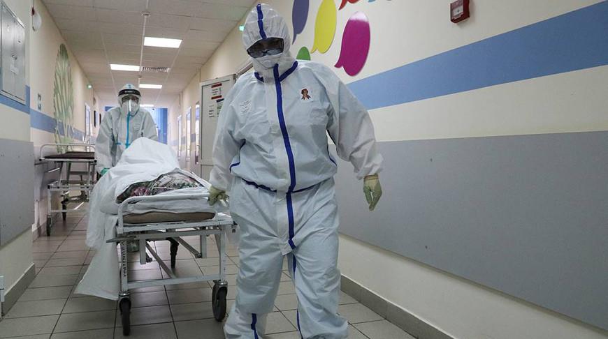 Россия заняла третье место в мире по числу заразившихся COVID-19
