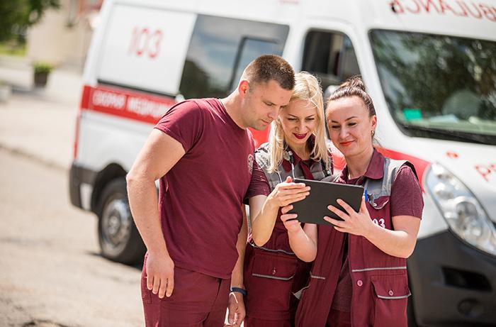 Стартовал проект velcom | A1, который обеспечит скорую помощь бесперебойной интернет-связью с кардиологами