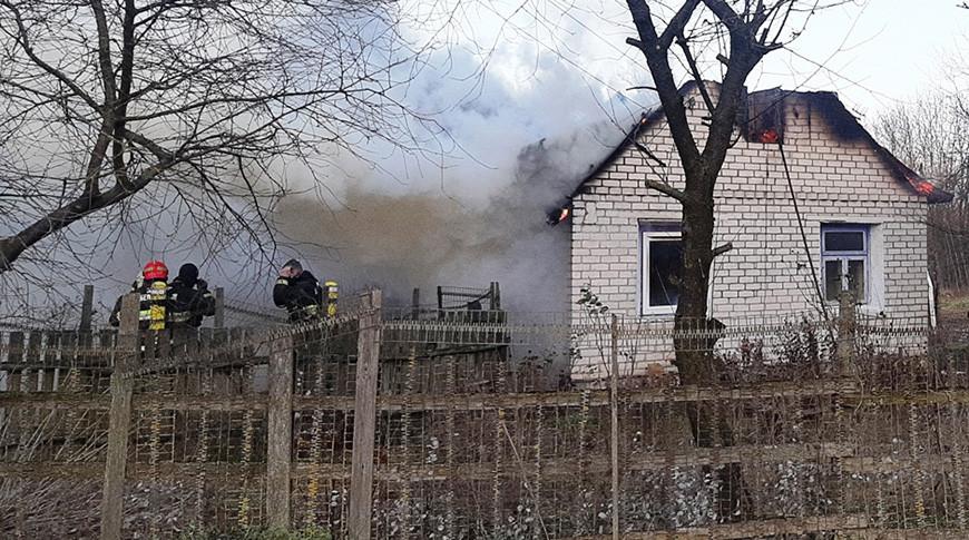 Пожарный извещатель спас пенсионера при пожаре в Гродненском районе